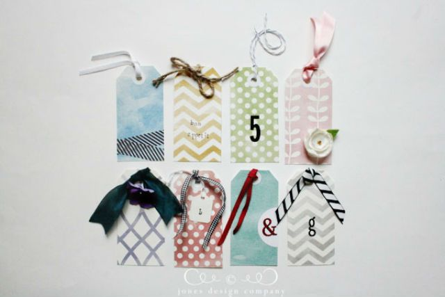 Classic DIY Gift Tag Template
