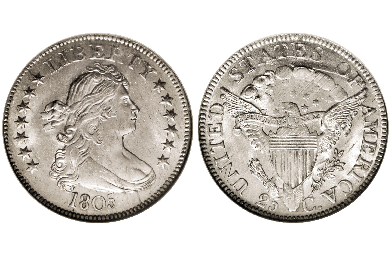 1805 Draped Bust Quarter