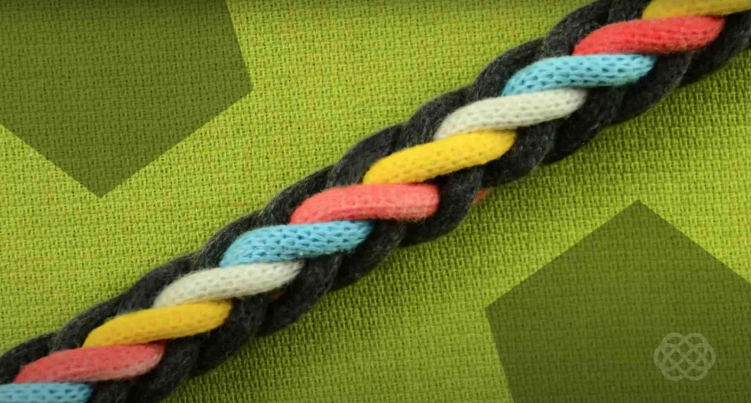 8-Strand Round Braid Bracelet Tutorial