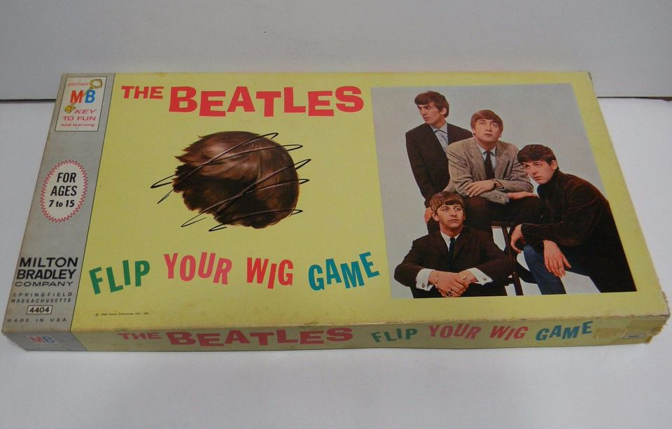 The Beatles Flip Your Wig Board Game