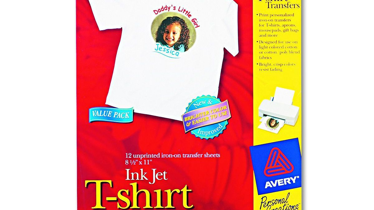 Easy Iron Image Transfer Paper