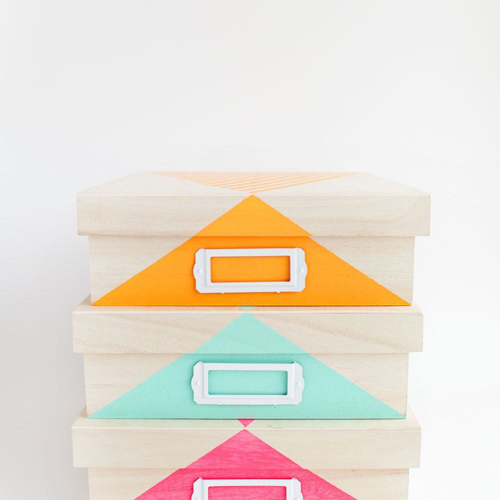 DIY dorm decor storage ideas