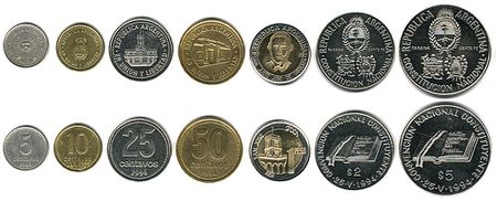 Argentinian Money Argentina Coins In Circulation