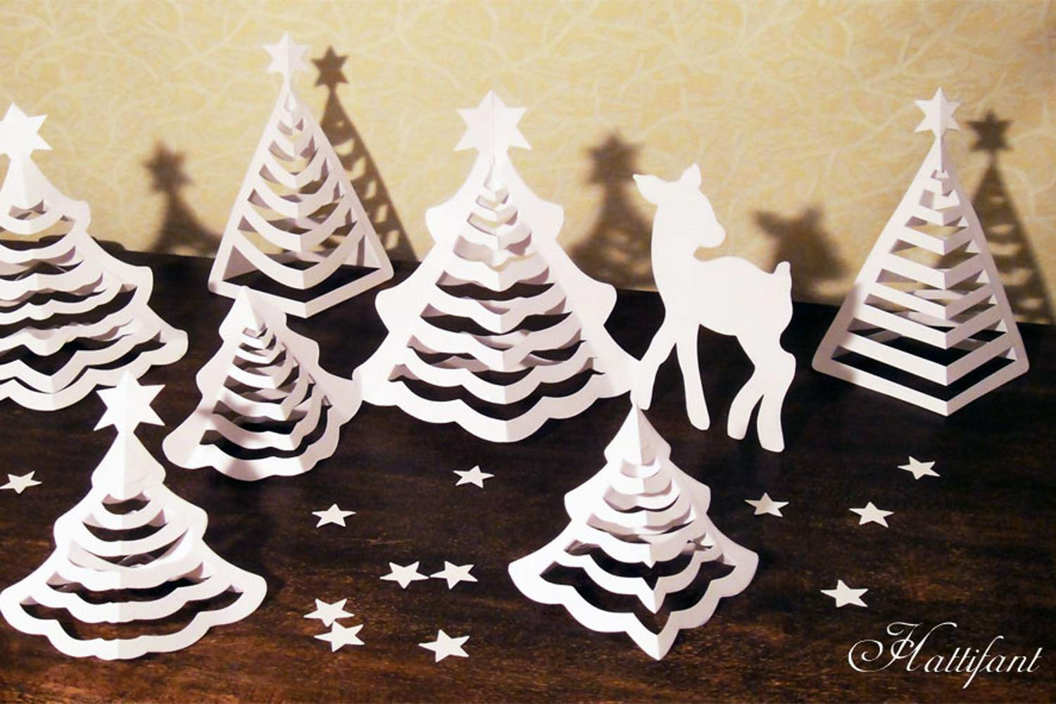 bcd1b53a4380d 11 Pretty Paper Christmas Ornaments and Crafts
