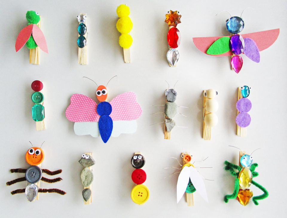 Clothespin Dragonflies