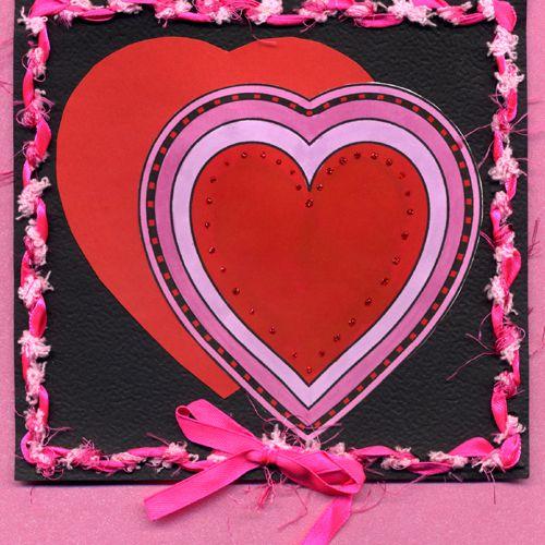Decorative Hearts Digital Stamps