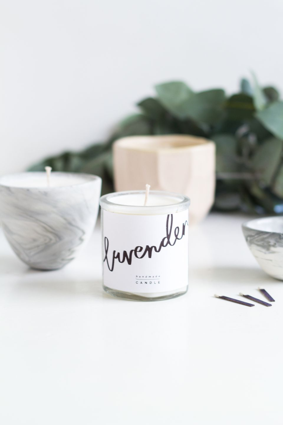 printable diy candle labels