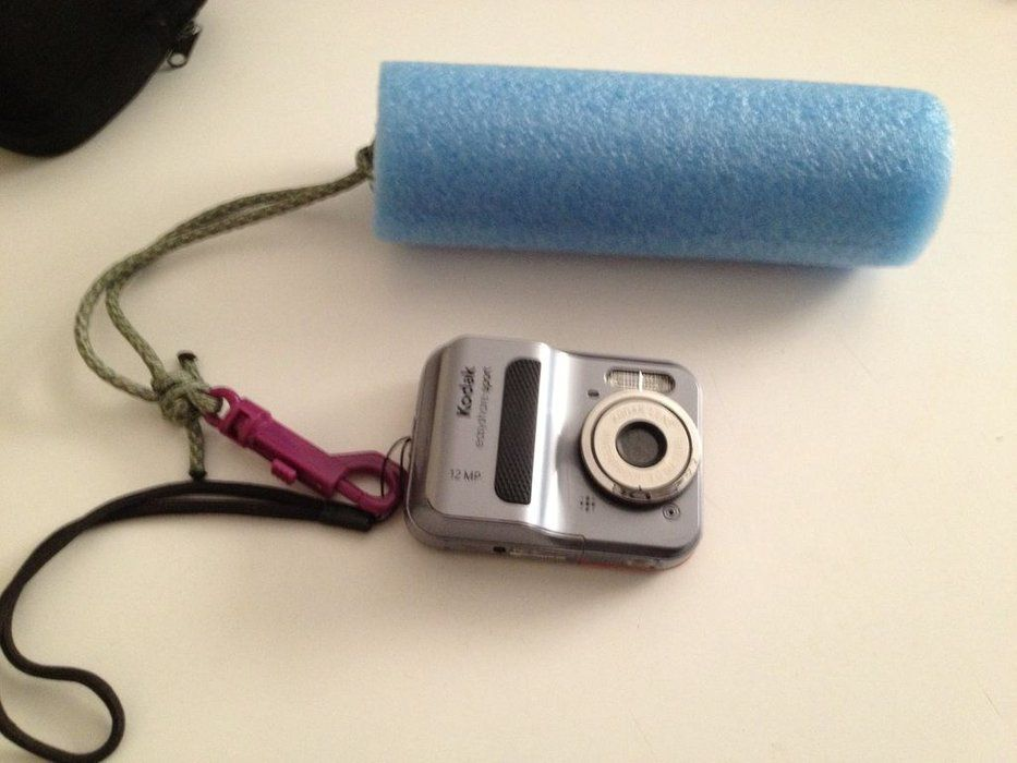 DIY Waterproof Camera Float