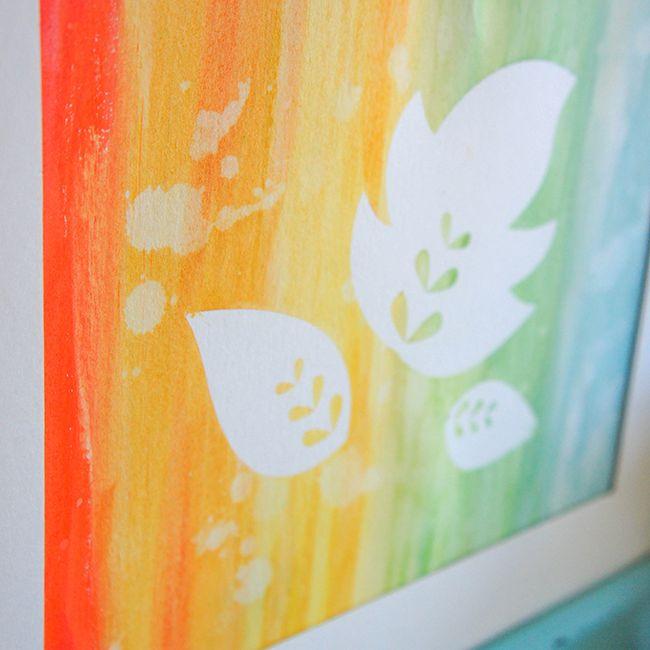 fall leaf painting tutorial