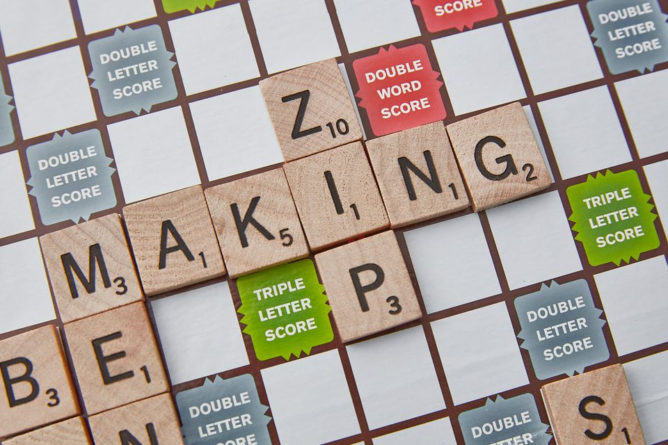 Scrabble three letter Z word