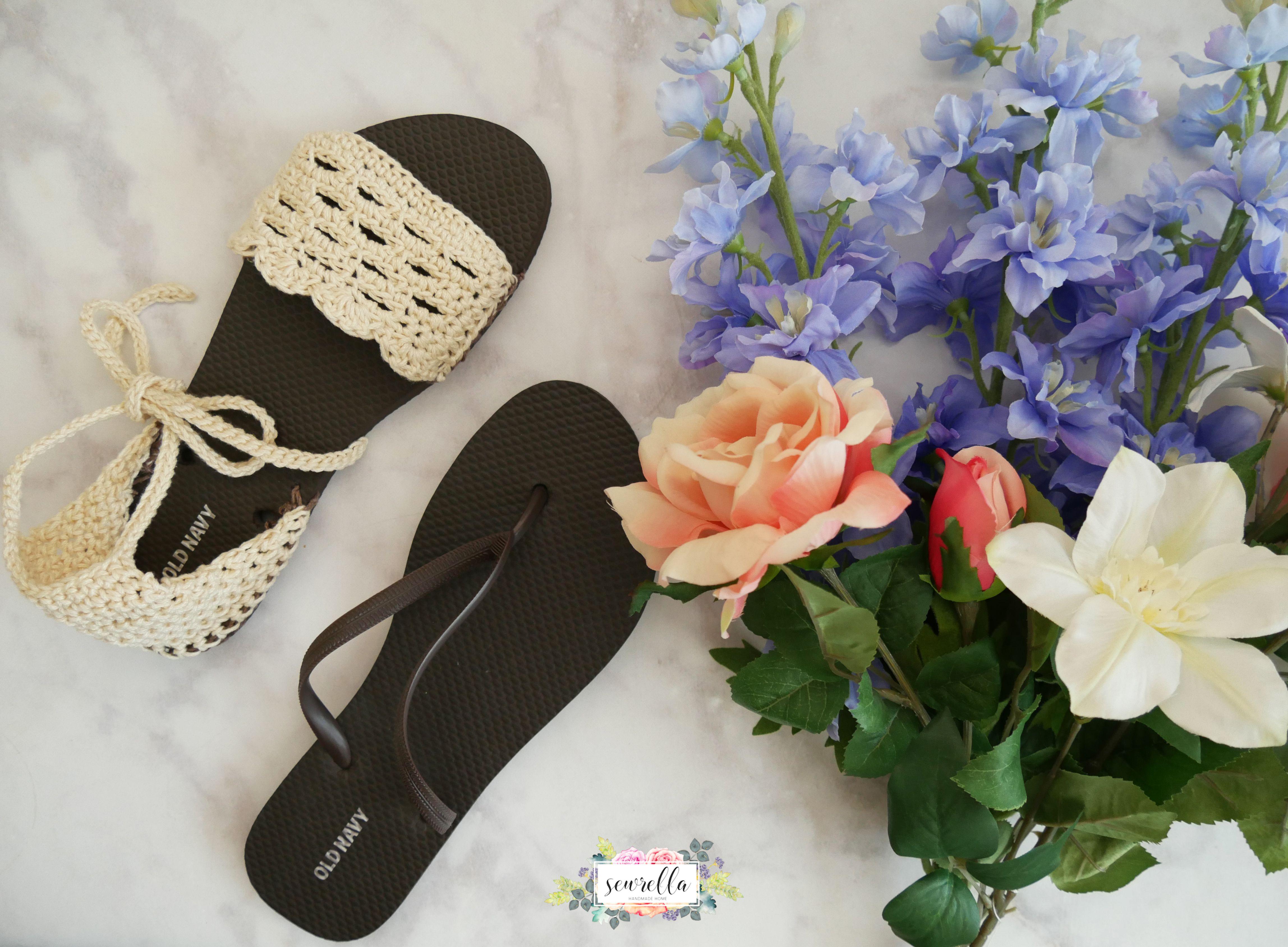 Crochet Flip Flop Sandals