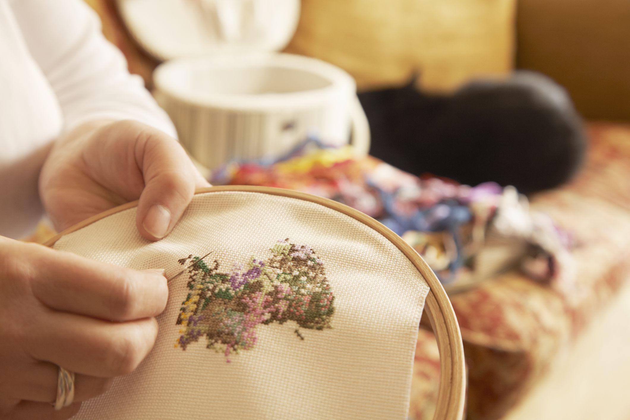 Learn to Cross Stitch: Five Basic Stitches in Cross Stitch