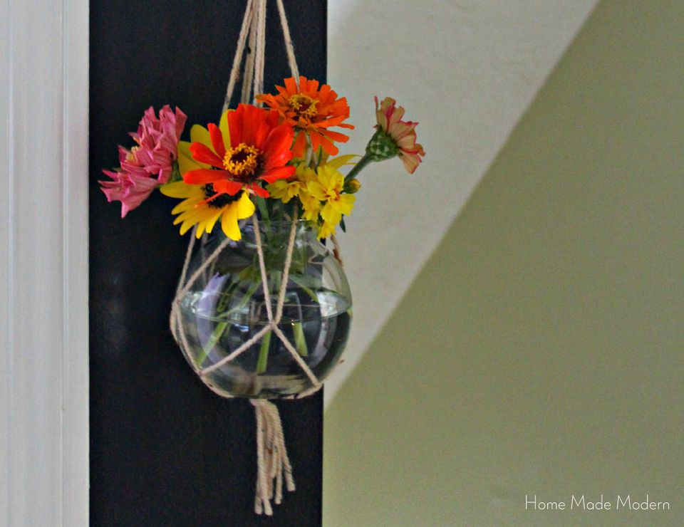 Diy Macrame Hanging Plant Holder