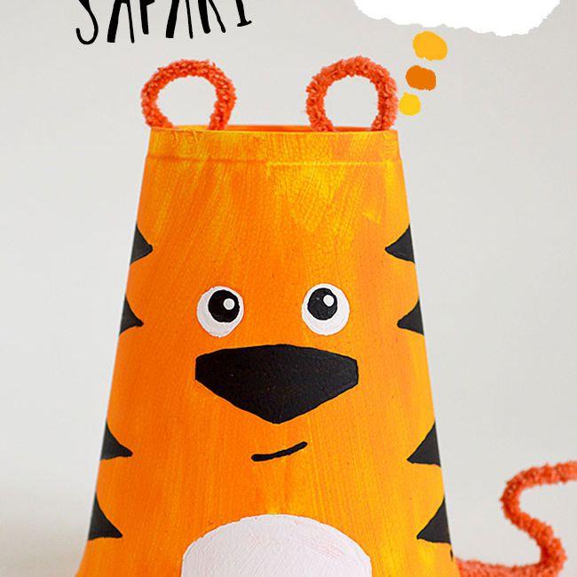 foam cup tiger craft