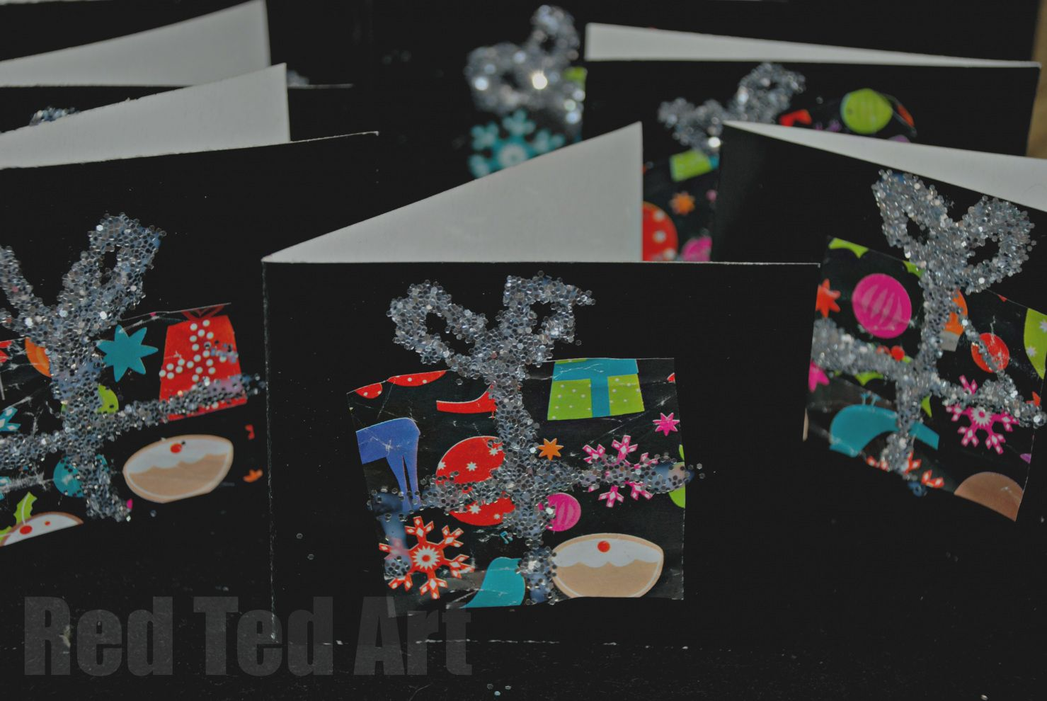 Wrapping Paper Card