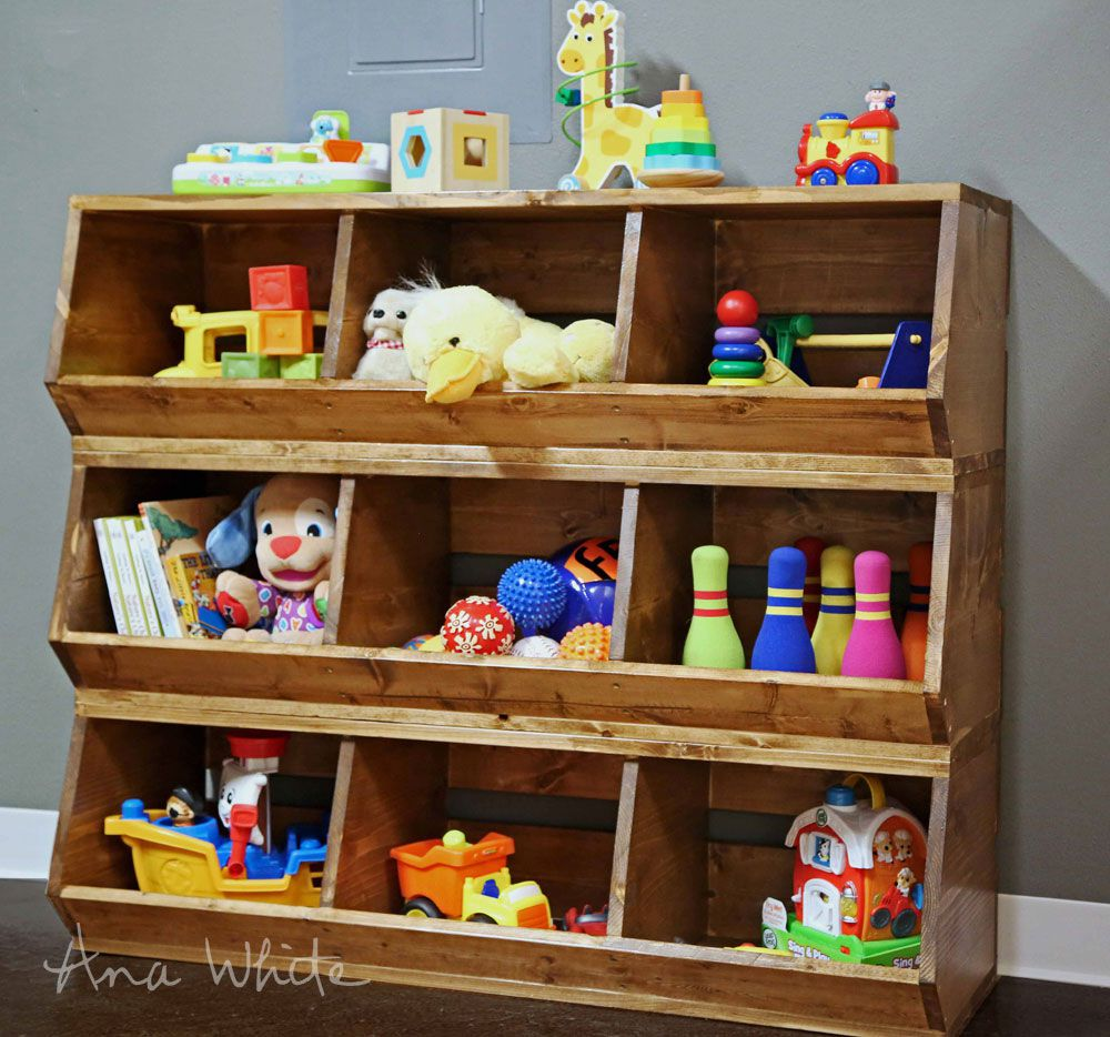 Small room diy projects for kid's toys