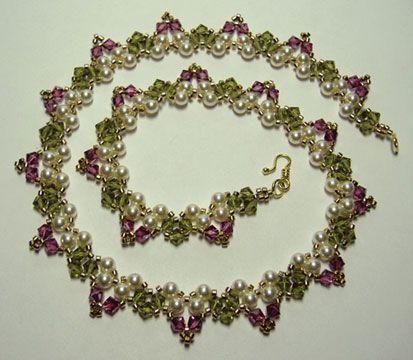 Garden Necklace beading pattern