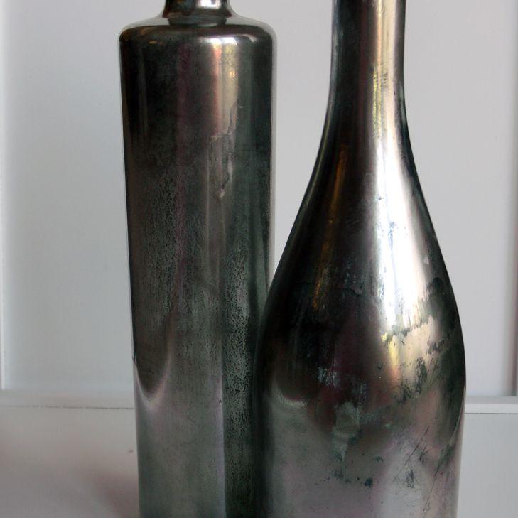 Wine bottle art project ideas