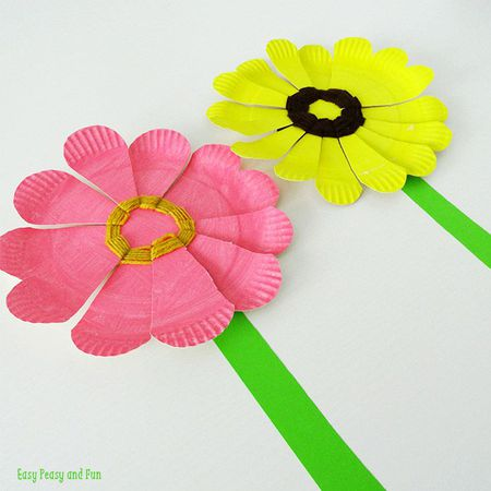 Spring Flower Crafts For Kids