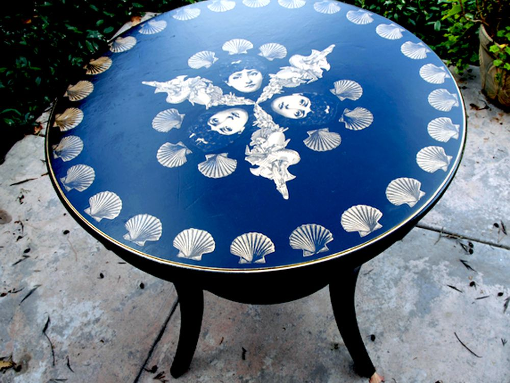 Table With Decoupage