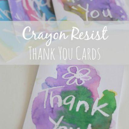 Wax Resist Card