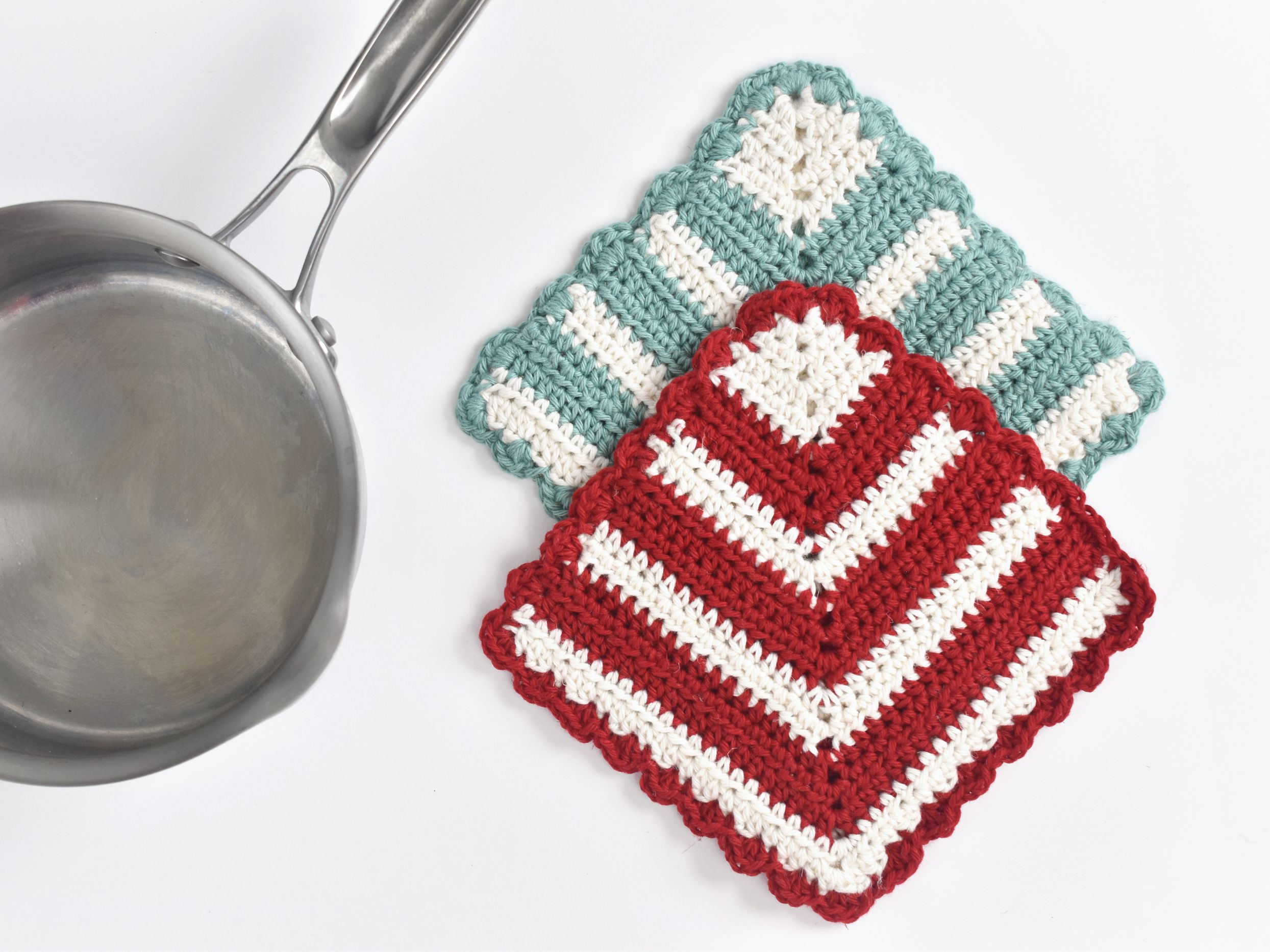 How To Crochet A Potholder