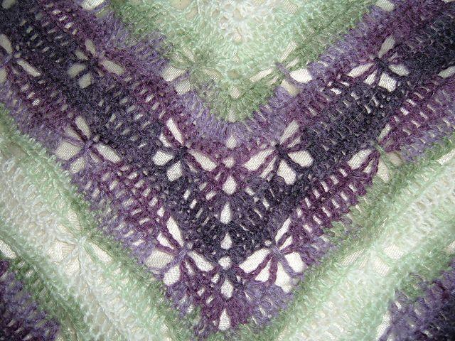 Butterfly Stitch Prayer Shawl pattern