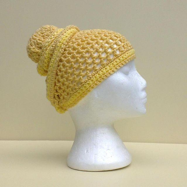 Crochet Head Wrap Hat Free Pattern