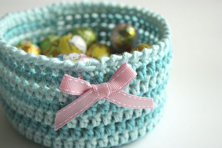 40 Free Crochet Basket Patterns Classy Free Crochet Basket Patterns