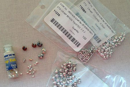 Crimp Beads and Crimp Covers