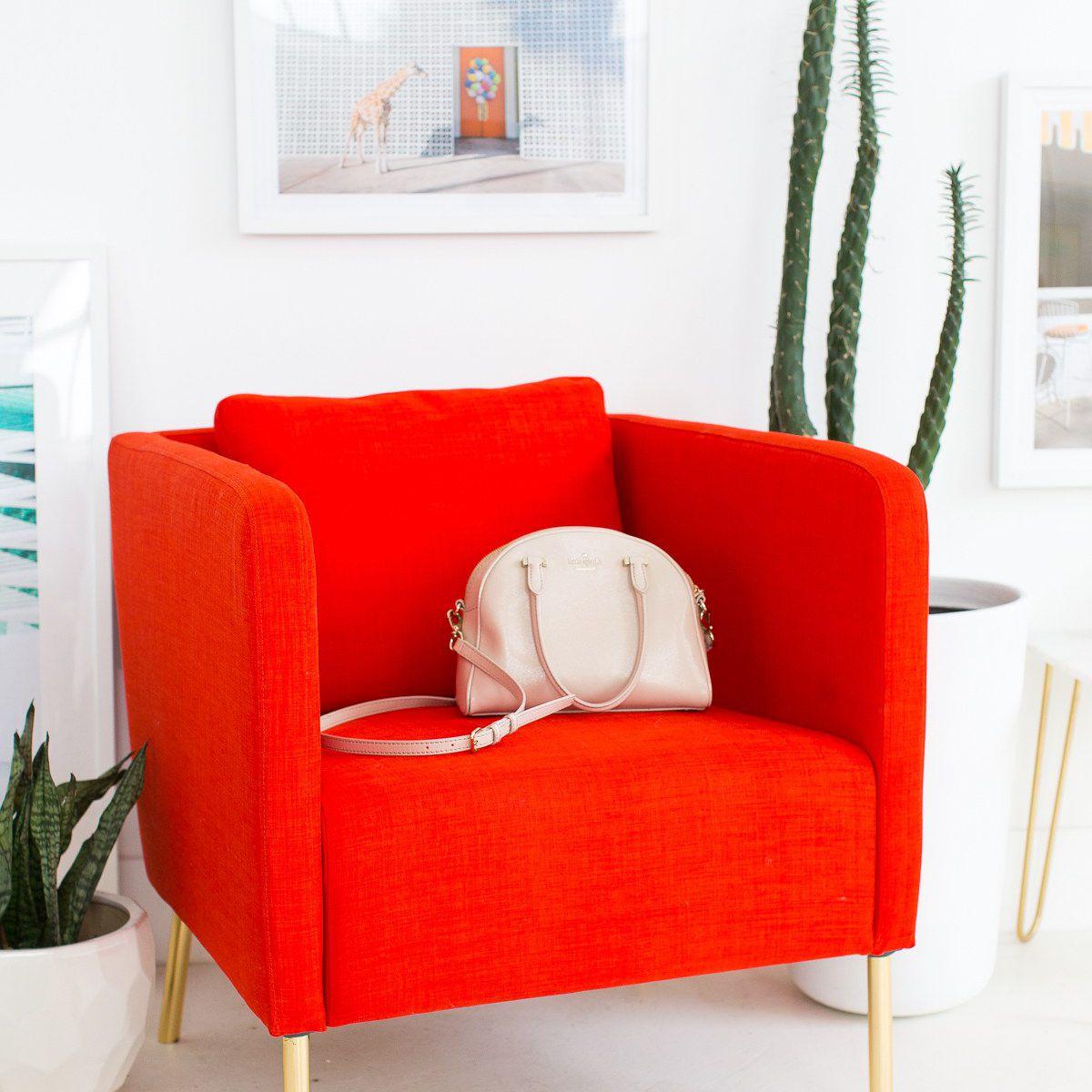 DIY Metallic Chair Legs