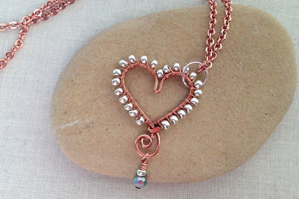 8 diy heart jewelry projects aloadofball Gallery
