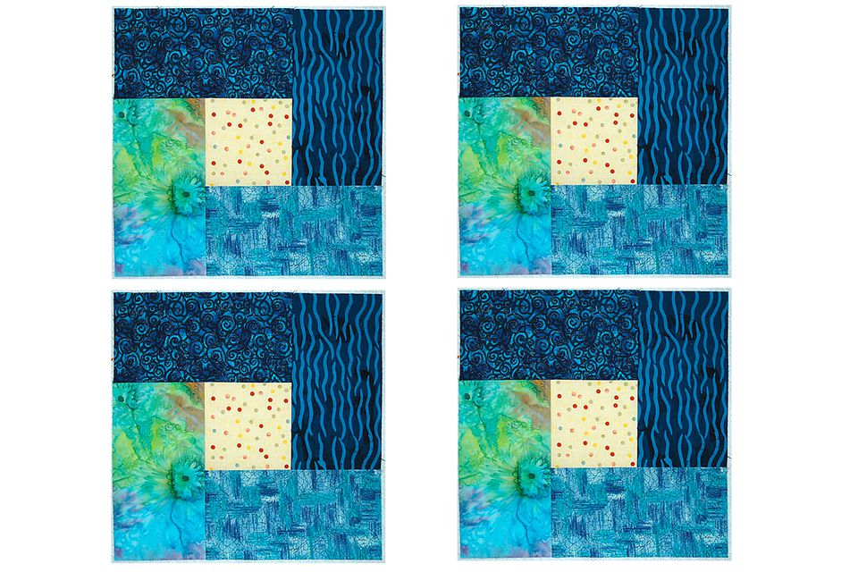 Bright Hopes Quilt Block Pattern