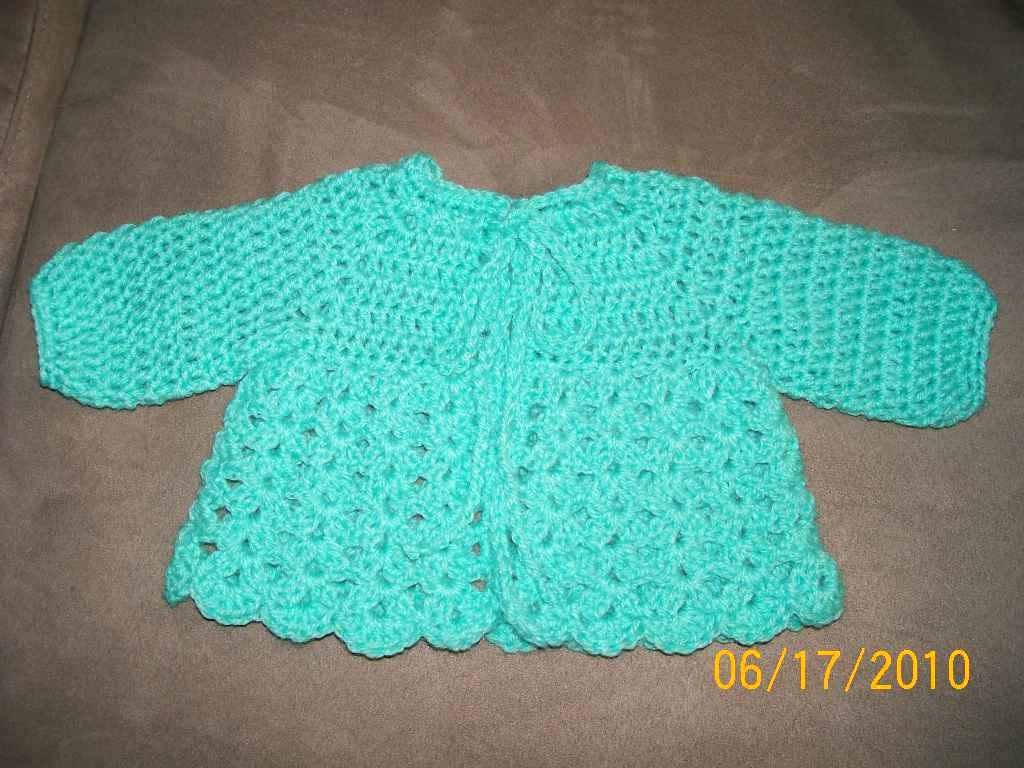 15 Free Baby Sweater Crochet Patterns