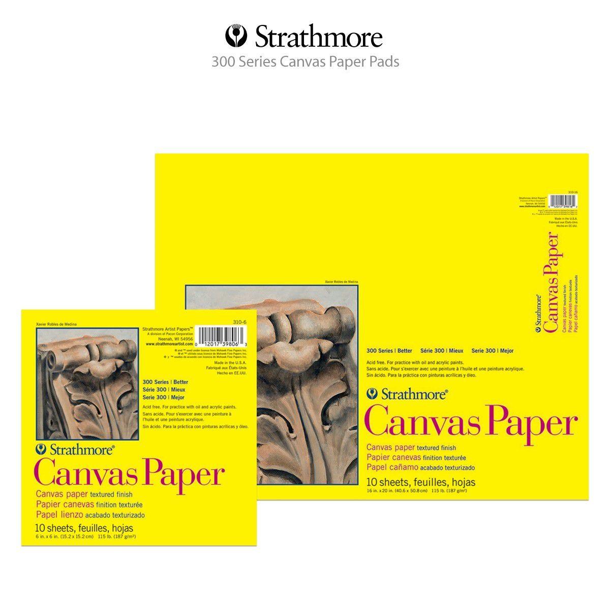 Strathmore (310-9) 300 Series Canvas Pad