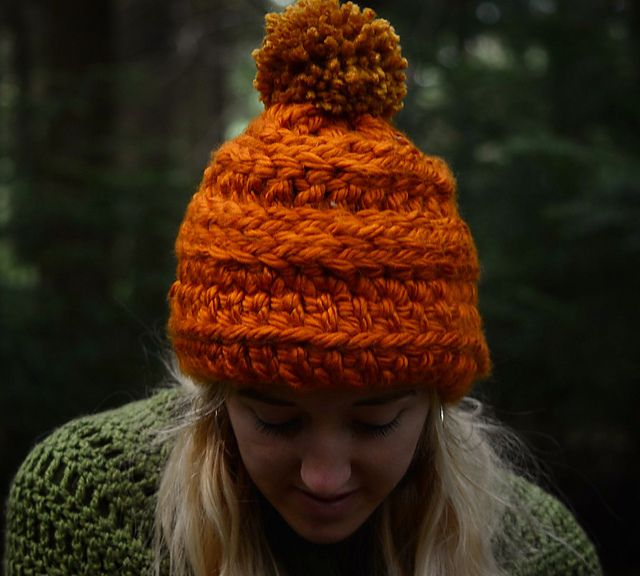 8440ca37f3a Chunky Winter Crochet Hat Pattern