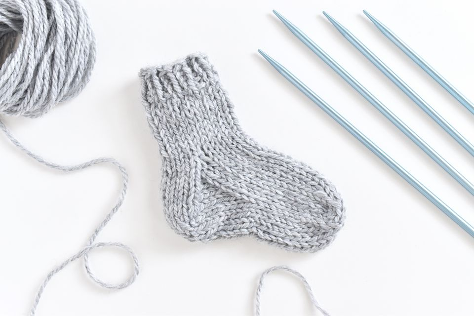 How to Knit a Practice Sock