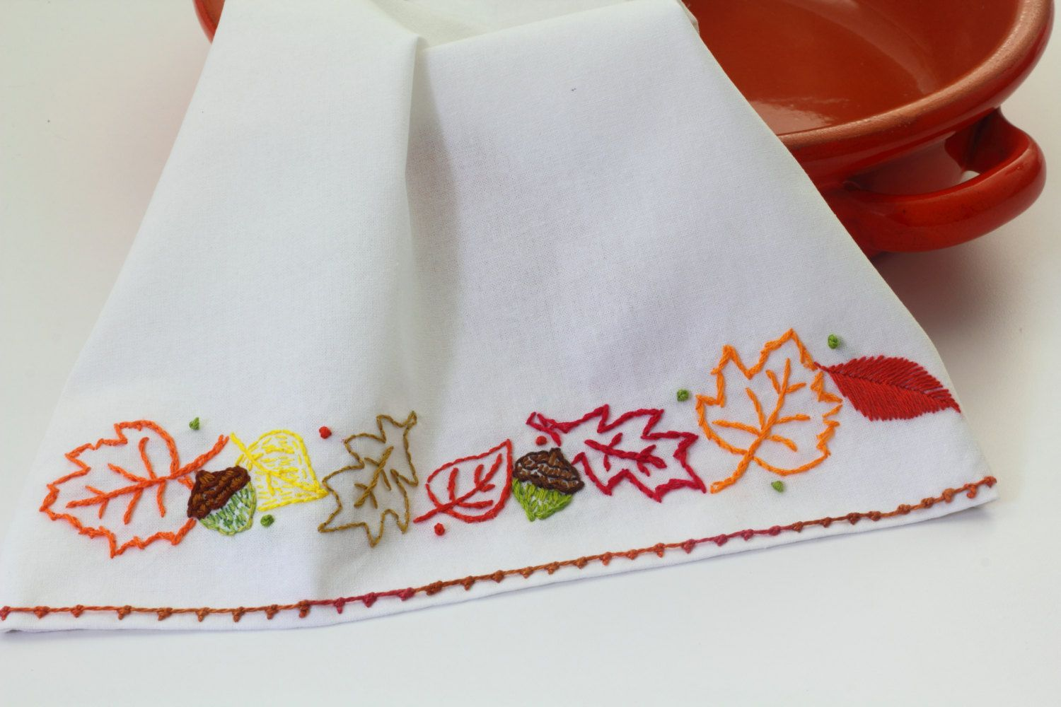 Autumn Embroidery Pattern Packet