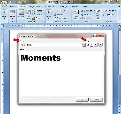 microsoft word block letter template