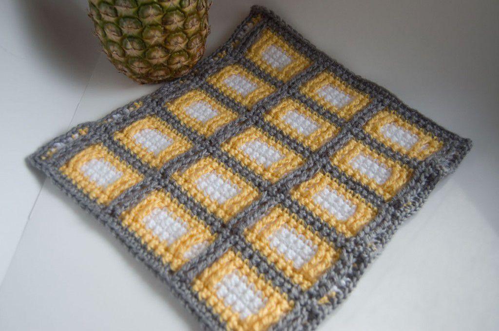 Custom Blanket Free Crochet Pattern