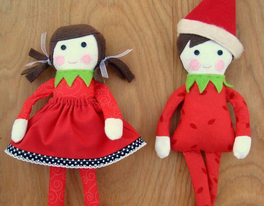 DIY Elf on the Shelf Dolls
