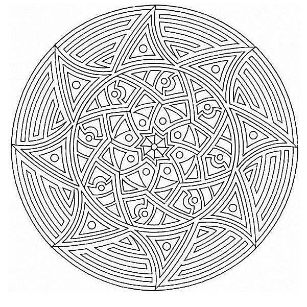 advanced mandala coloring pages 1,000+ Free, Printable Mandala Coloring Pages for Adults advanced mandala coloring pages