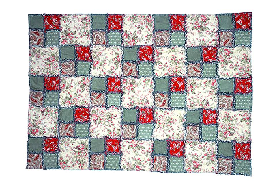 Easy Rag Quilt Pattern