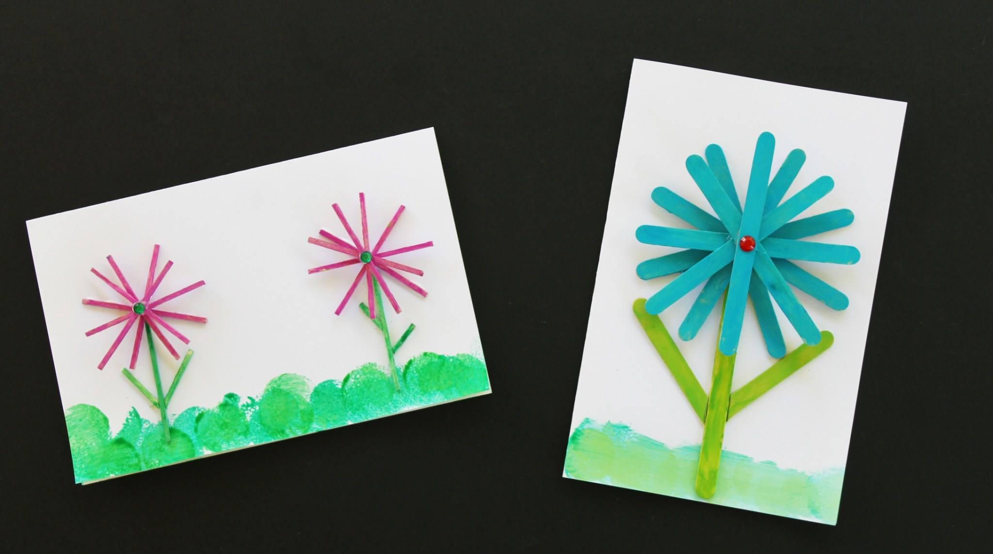Craft Stick Card