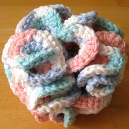 Free Crochet Bath Puff Pattern