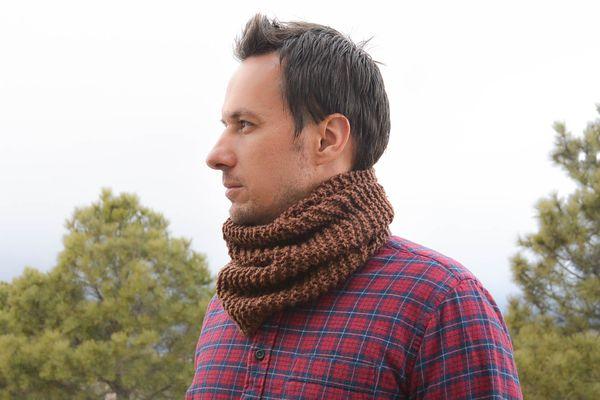 Manly Man Cowl Knitting Pattern