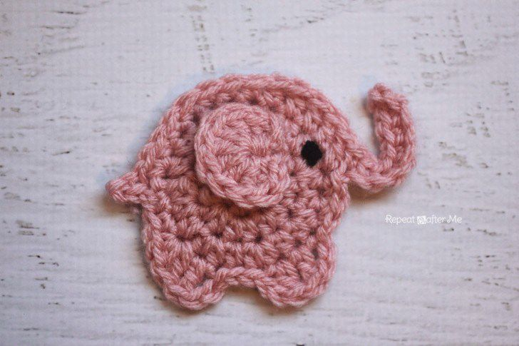 Elephants In Love | Free Crochet Pattern | Hooked by Kati | 485x728