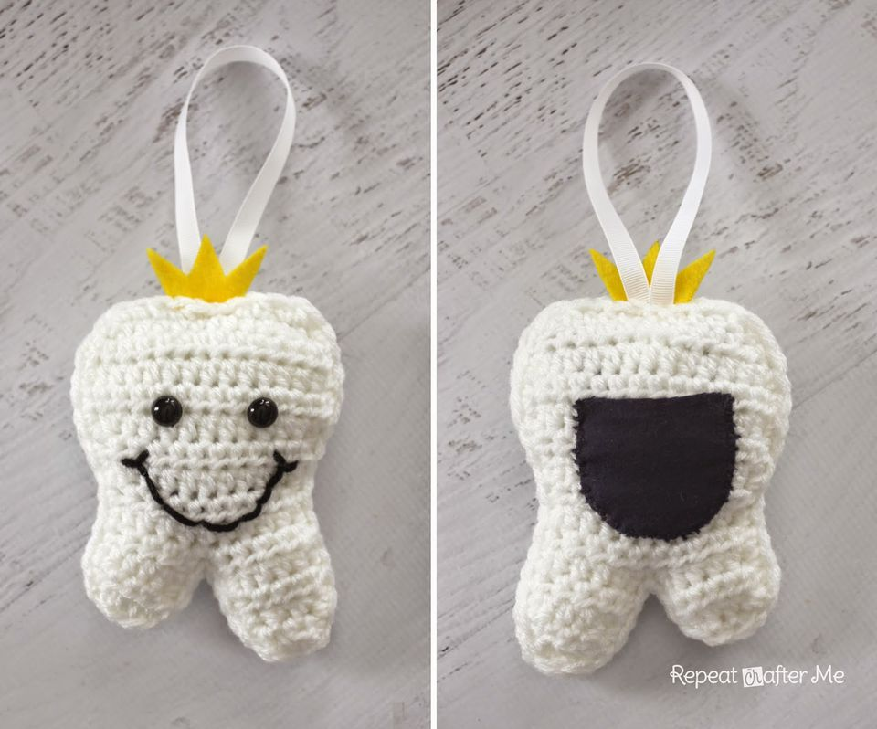 Tooth Fairy Pouch Crochet Patterns