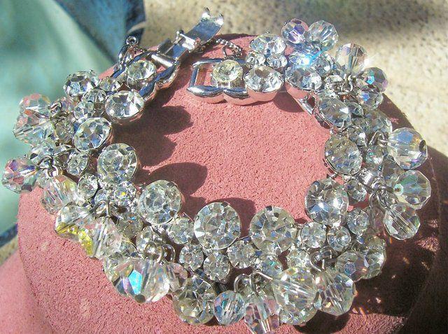 Juliana/DeLizza & Elster Crystal Dangle Bracelet