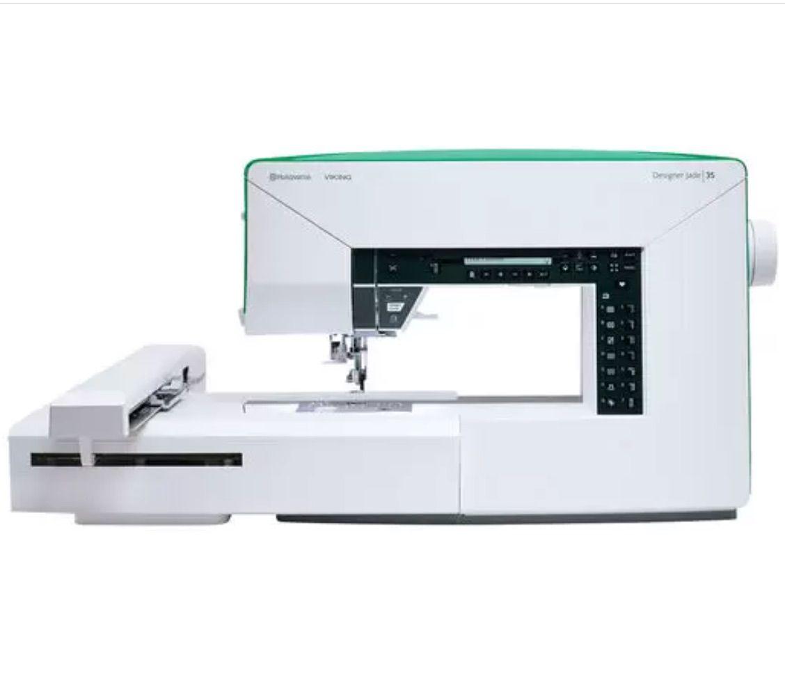 Husqvarna Viking Designer Jade 35 Sewing and Embroidery Machine